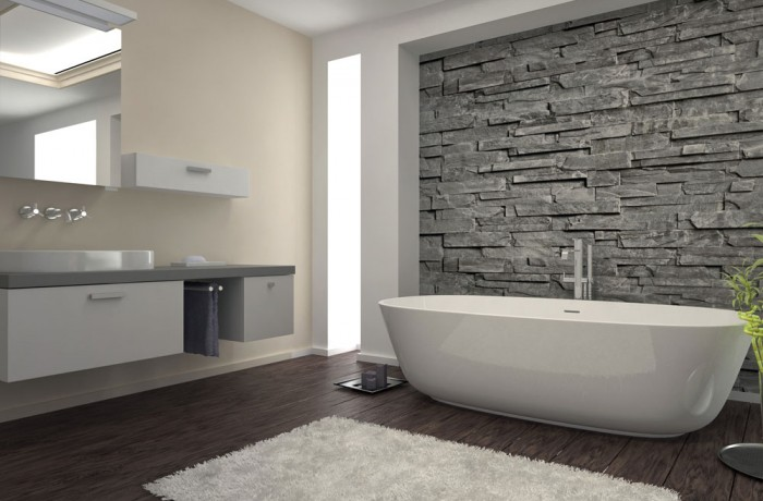 Luxury Stand Alone Tub