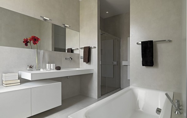 Stylish Minimal bathroom